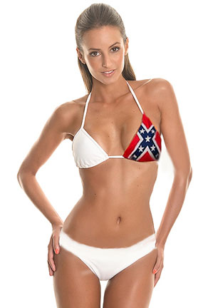 79a0500ef217a Rebel Flag bikini Rebel swimwear